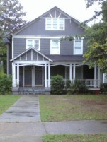 This is the house where my mom was born.