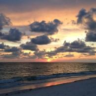 Glorious sunset