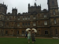 Vintage Garden Party at Highclere Castle (Downton Abbey)