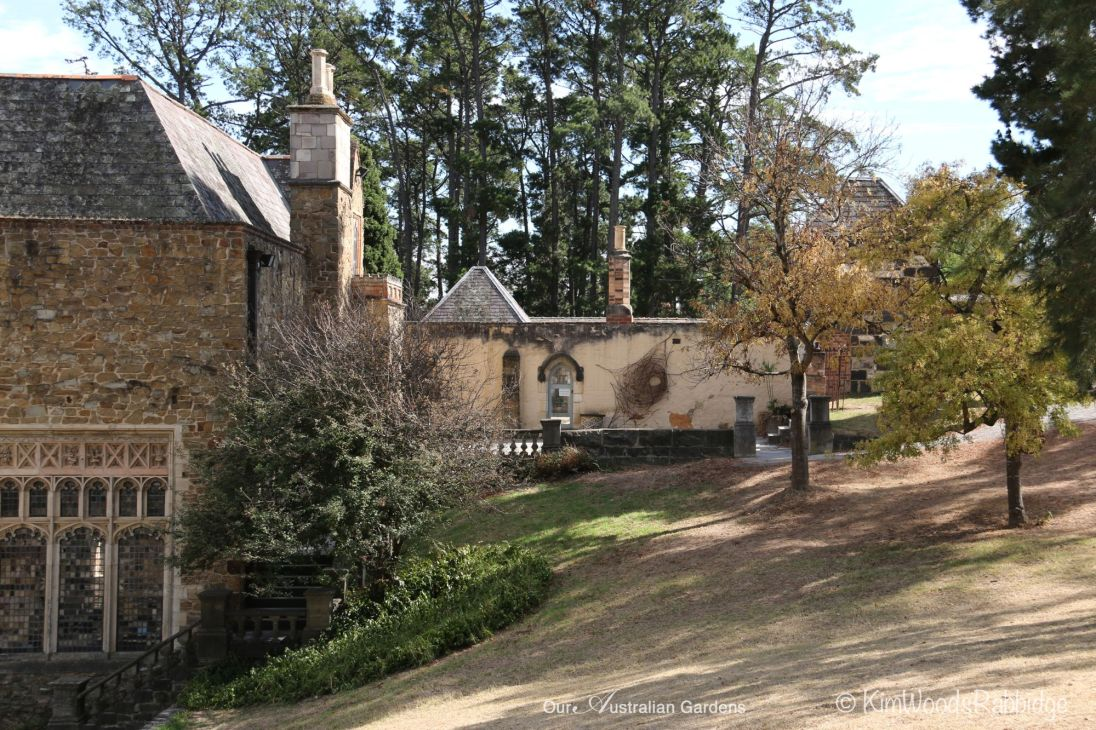 Lovely old buildings in the Montsalvat grounds.