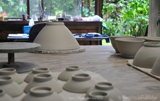 Mollie Bosworth porcelain studio ©Kim Woods Rabbidge