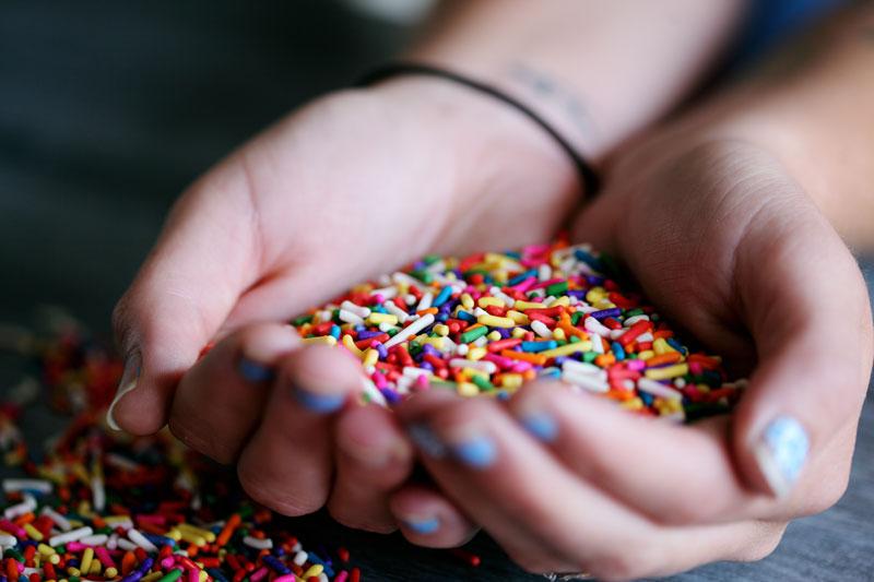 patlayan şekerler