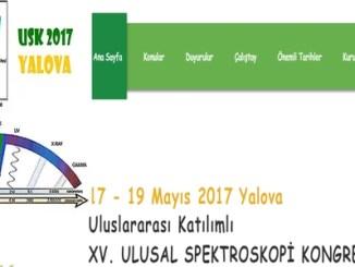 14c6c xv. ulusal spektroskopi kongresi 17 19 mayc4b1sta yalova c39cniversitesinde yapc4b1lacak