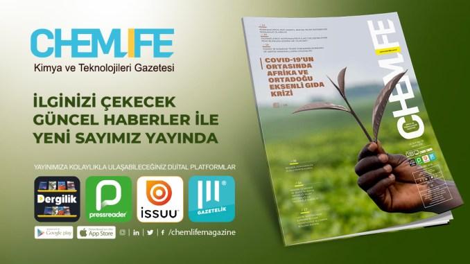 Covid 19'un ortasında Afrika ve Ortadoğu Eksenli Gıda Krizi Chemlife Yeni Sayısı İle Yayında