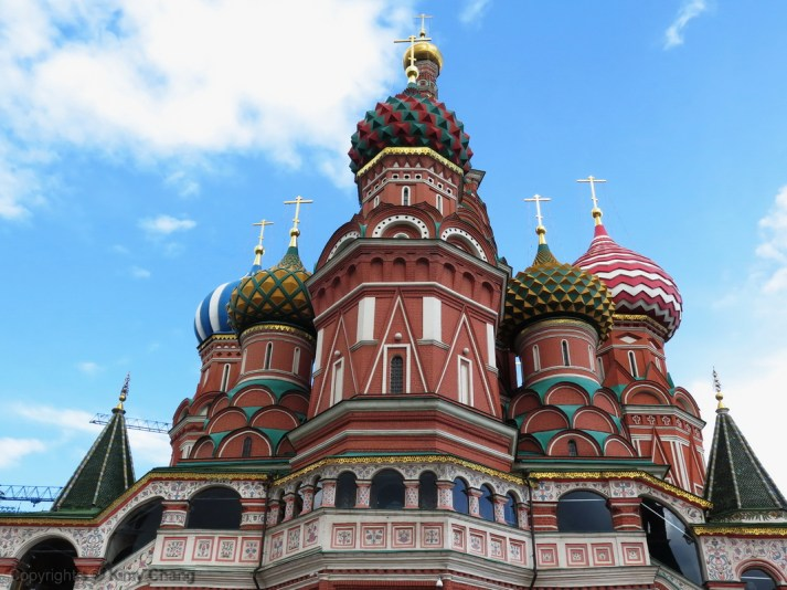 Saint Basil's Cathedral - Side view
