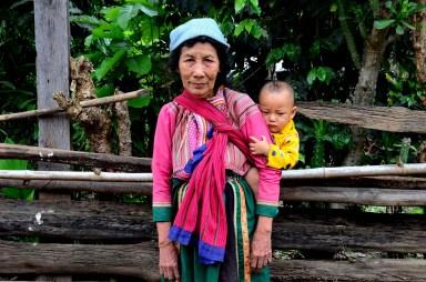Lishu woman who walked passed us