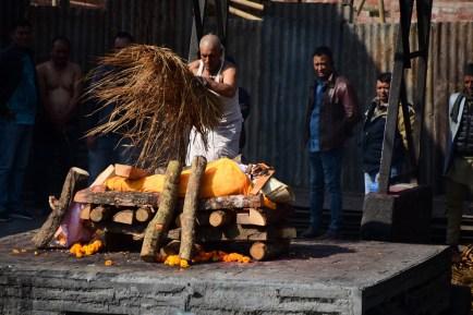 Burning Corpse - Pashupathinath Temple