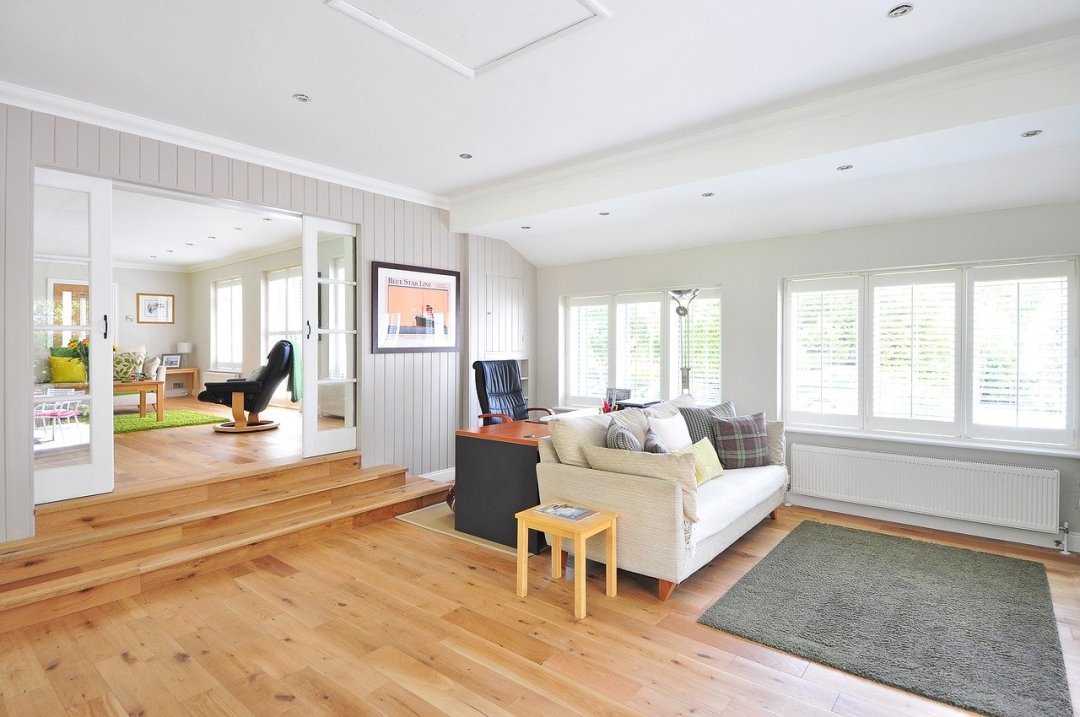 image of room with wood flooring