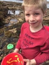 Rock-pooling at St Mary's Island