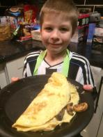 January - Tadpole cooked me an omelet