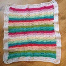 Rainbow Baby Blanket 1