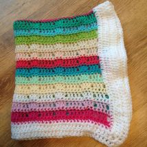 Rainbow Baby Blanket 2