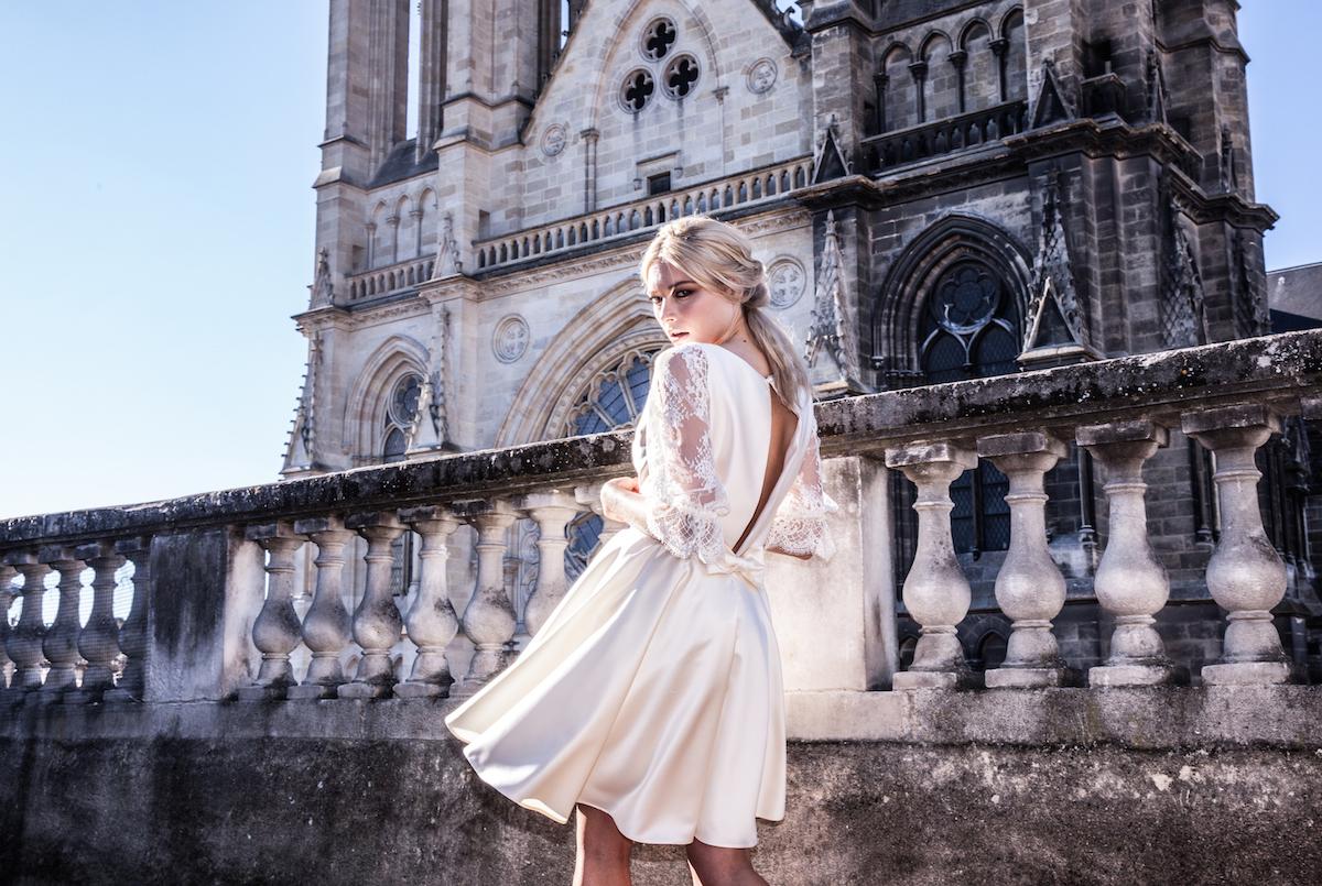 Joy creation sur mesure de robes de mariées à Bayonne