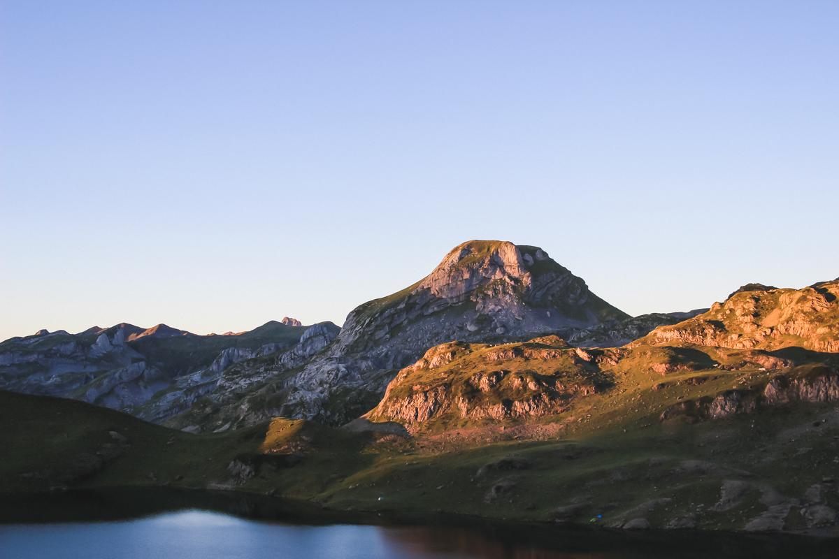 Randonnée des lacs d'Ayous dans les Pyrénées en Vallée d'Ossau