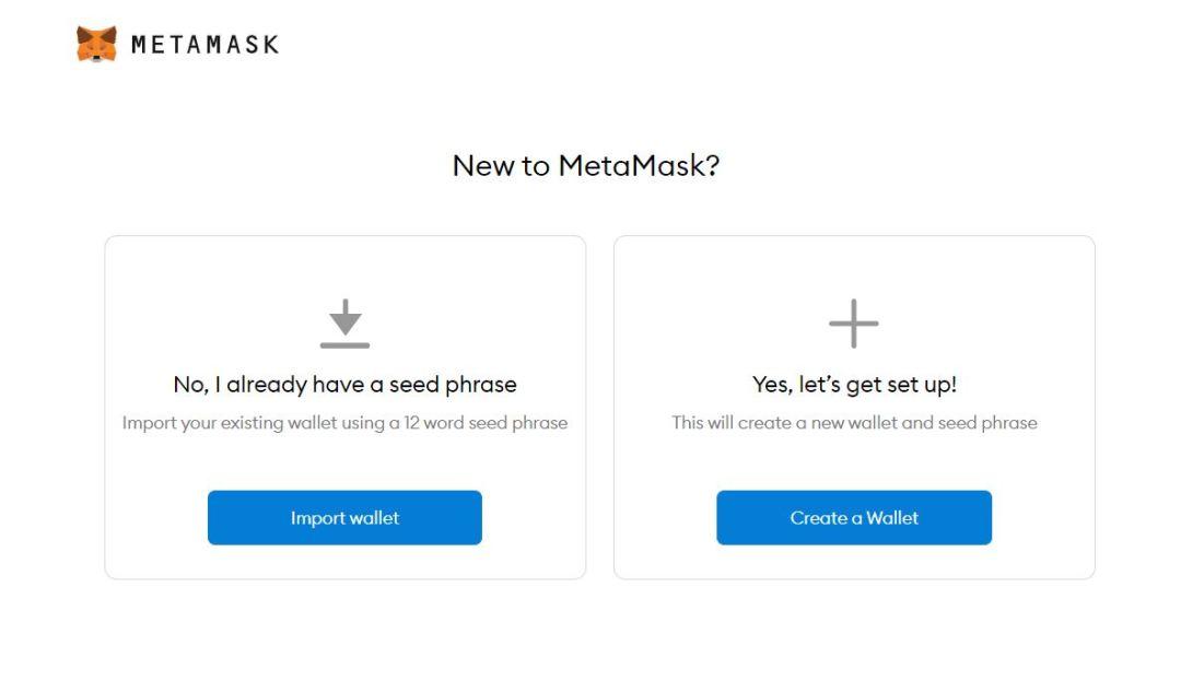 New to Metamask? Seed Phrase Setup