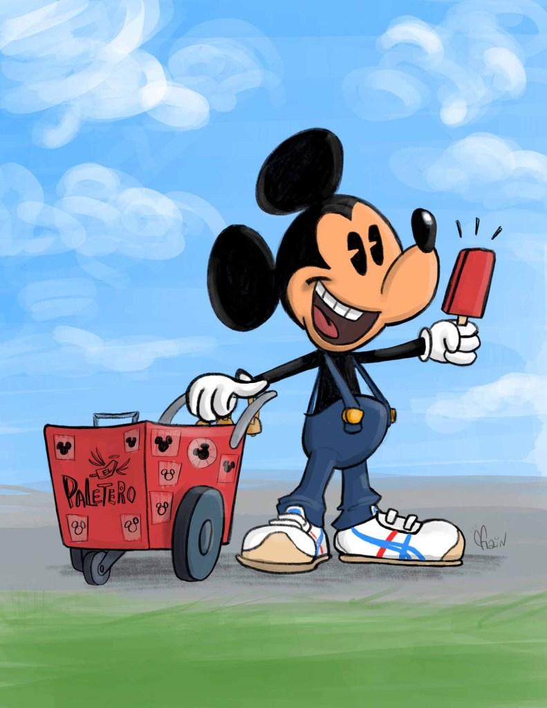 Paletero Mickey!