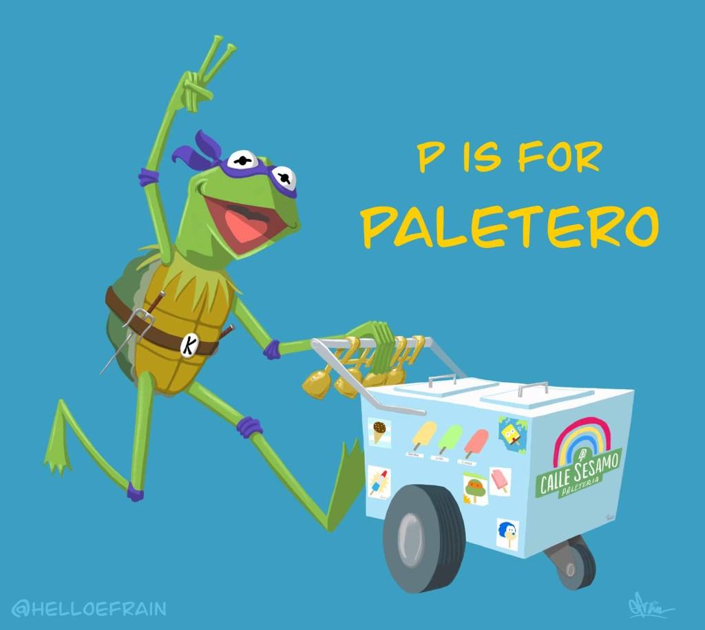 Paletero Kermit