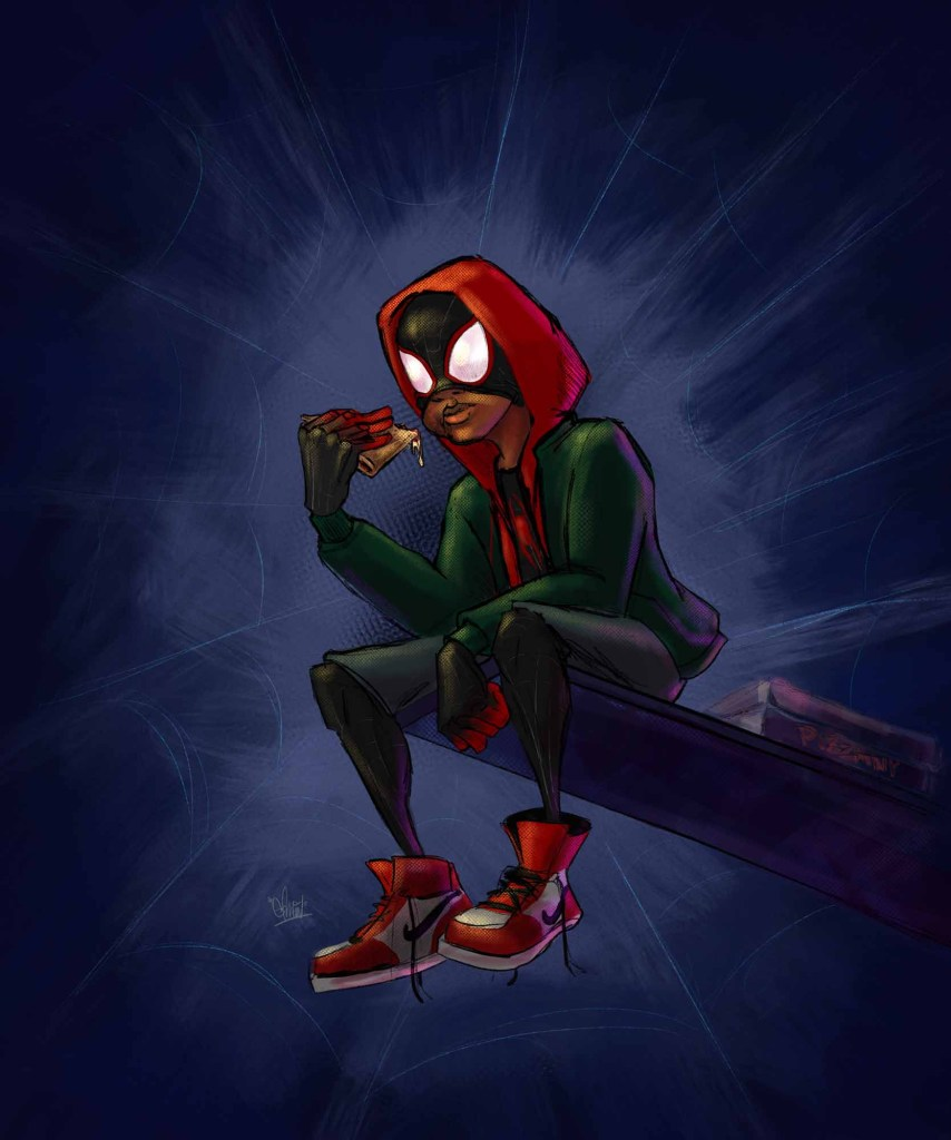 Miles Morales Pizza Break - Spider-Man