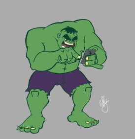 Hulk Fingers