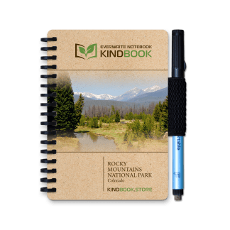a6 kindbook rocky mountains