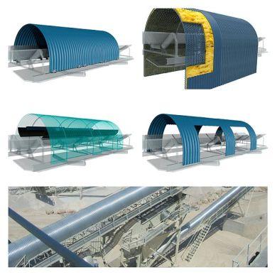 Capotex Belt Conveyor Covers