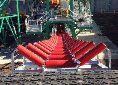 Steel conveyor rollers, K-Steel Rollers