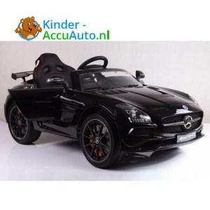 Mercedes SLS Zwart Kinderauto 1
