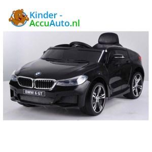 BMW 6GT Zwart Kinderauto 1
