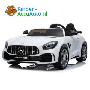 Mercedes GTR AMG kinderauto Wit 1
