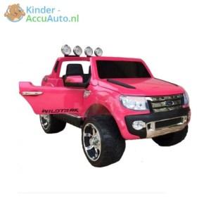 Kinder accu auto ford ranger roze F150