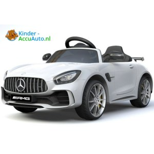Kinder accu auto mercedes GTR amg kinderauto wit 3