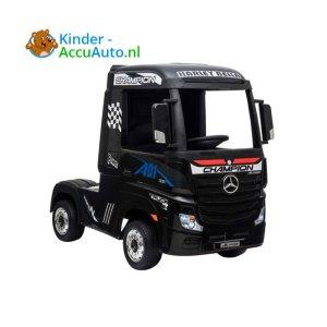 Mercedes Actros Zwart Kinder Vrachtwagen 1