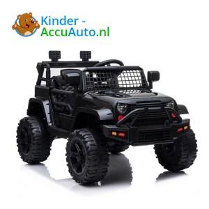 Jeep Mountain King Zwart Kinderauto 1