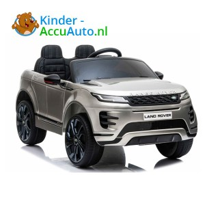 Range Rover Evoque Zilver Kinderauto 1