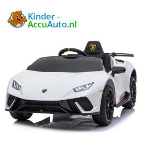 Lamborghini Huracan Wit Kinderauto 1