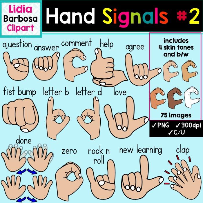 Magnificent Classroom Hand Signals Clipart Download Free Architecture Designs Scobabritishbridgeorg