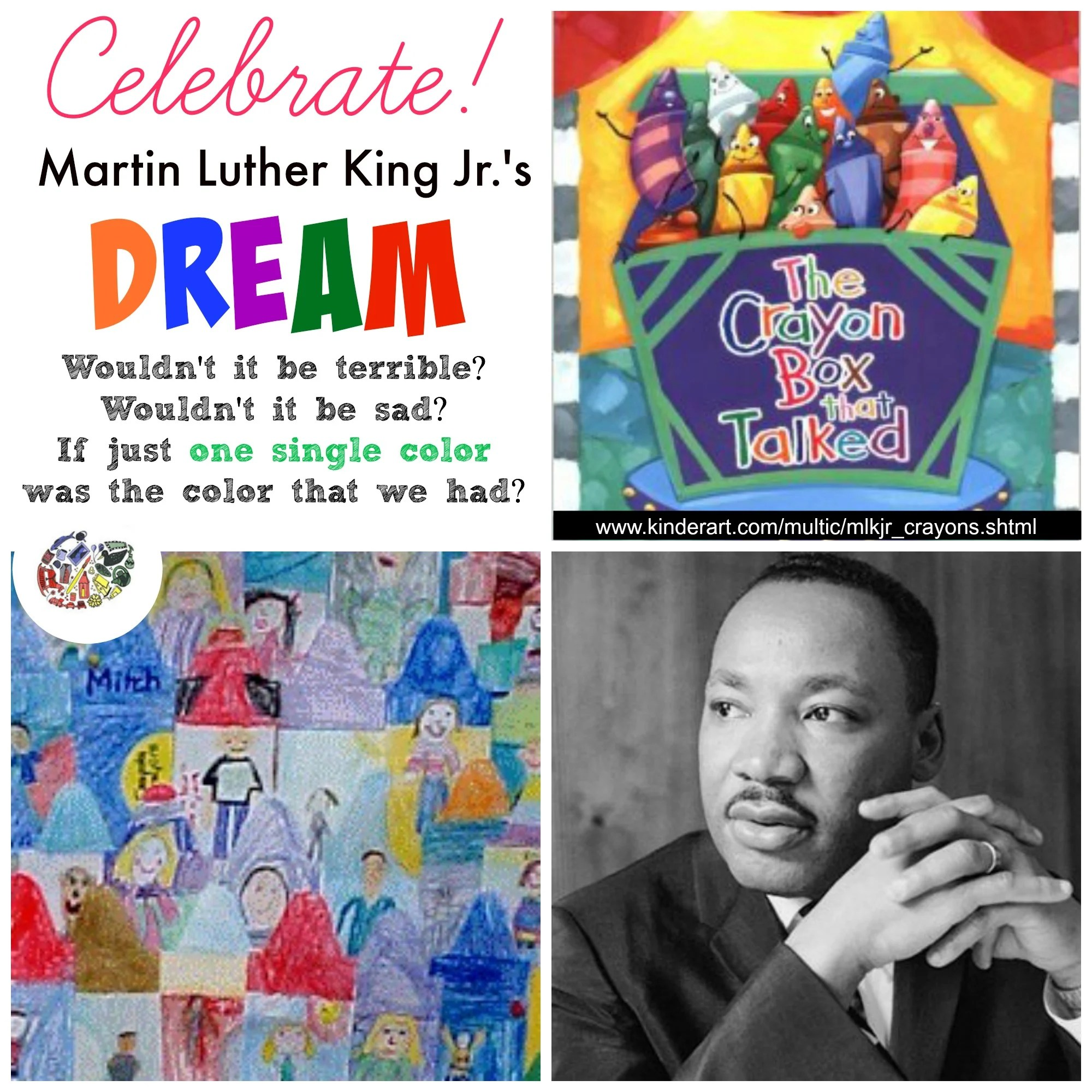 A Box Of Crayons Martin Luther King Jr Lesson Plan