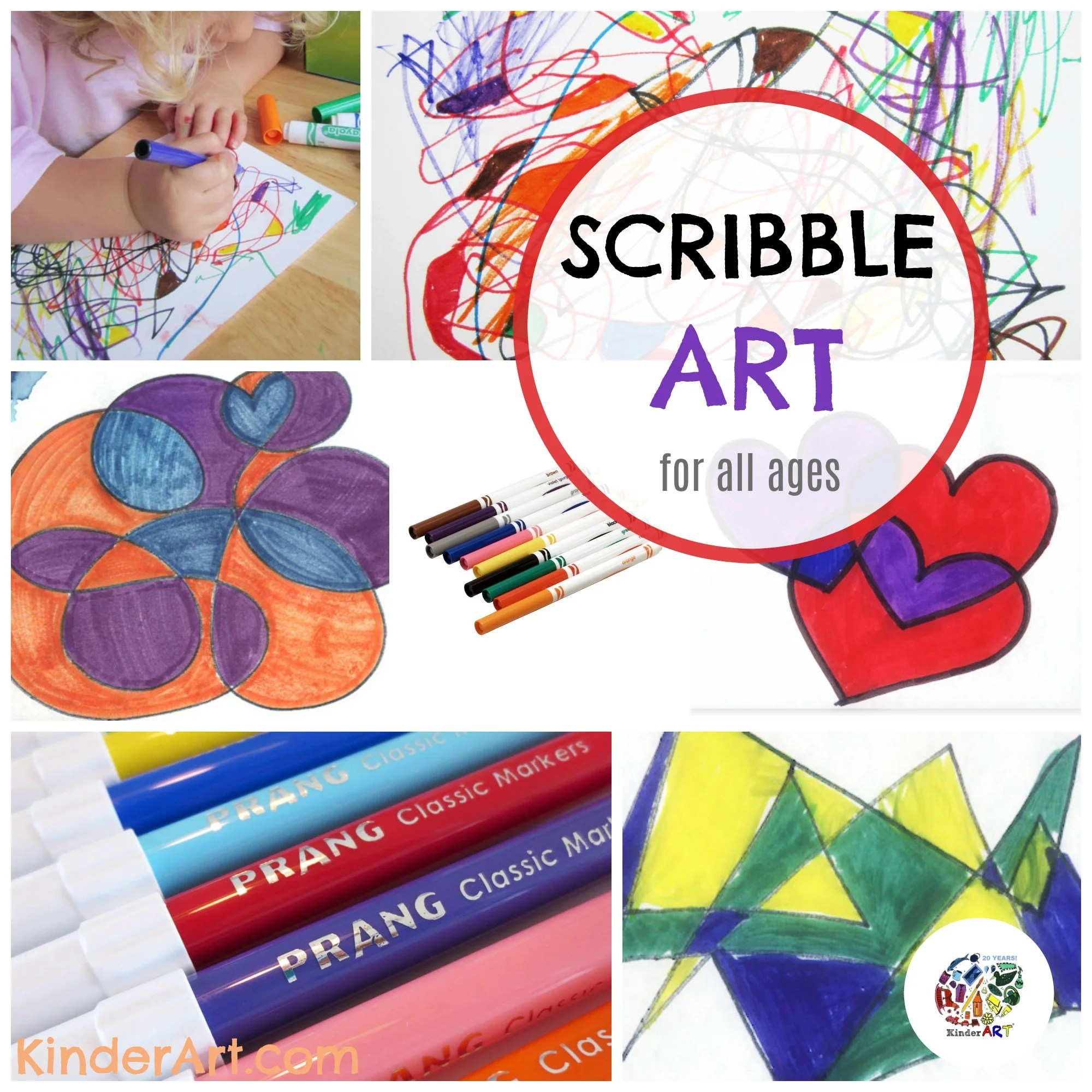 Advanced Scribble Pictures Drawing Lessons For Kids