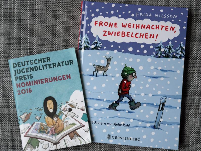 Nominiert für den Jugendliteraturpreis: Frohe Weihnachten, Zwiebelchen!