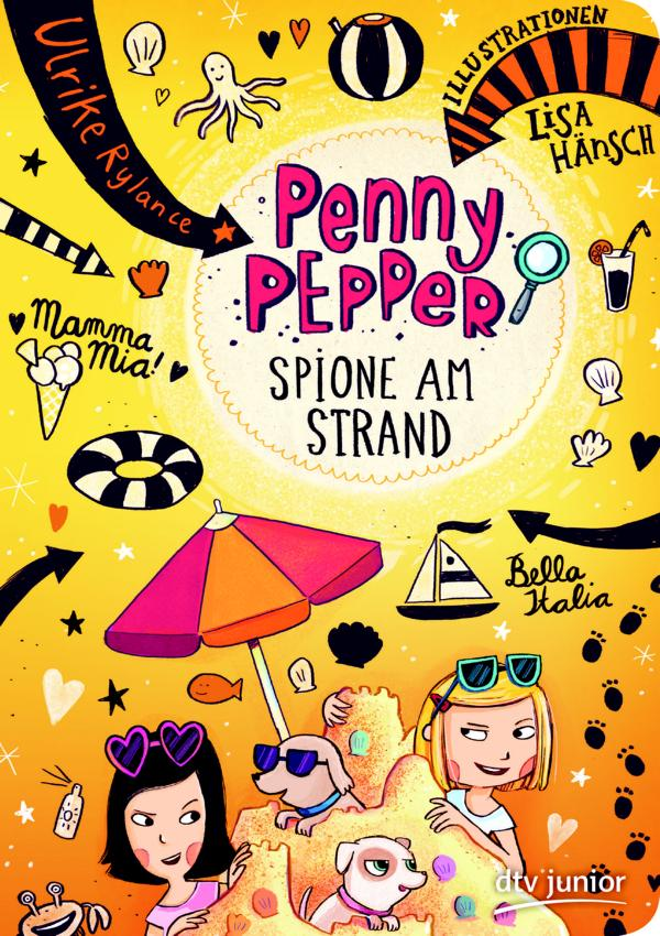 Penny Pepper 5 – Spione am Strand