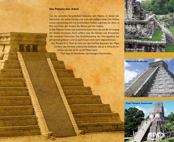 Tempelstätten der Maya Indianer - Kinderbuch