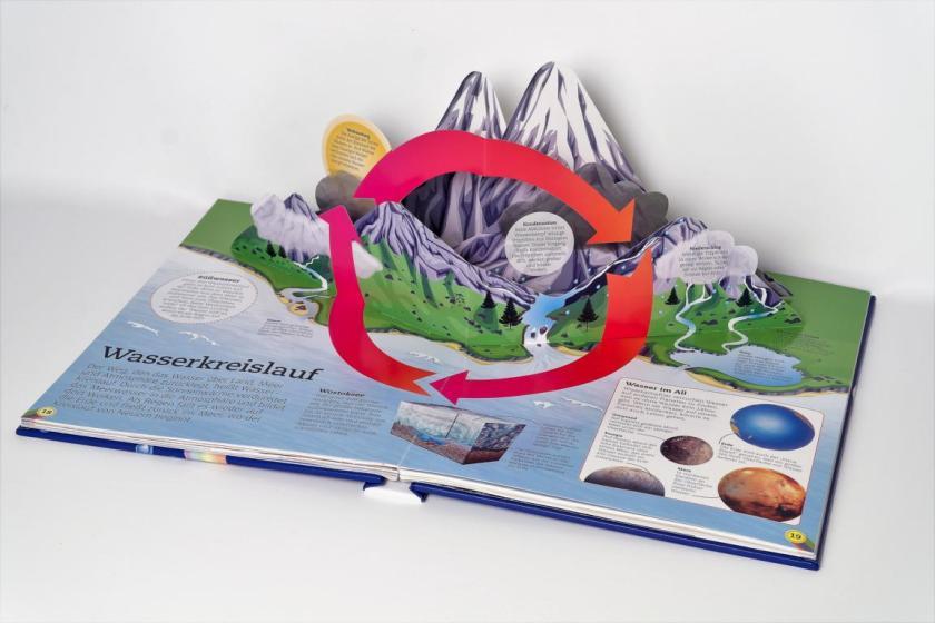 Buch über die Erde, Vulkane, Erdbeben