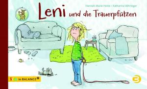 """Leni ist traurig, weil ihr Hund gestorben ist. Das Bilderbuch """"Leni und die Trauerpfützen"""" zeigt einen Weg, mit dem Gefühlschaos umzugehen."""
