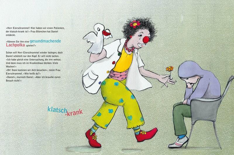 Klinikclowns Kinderbuch, Bilderbuch Krebs bei Kindern