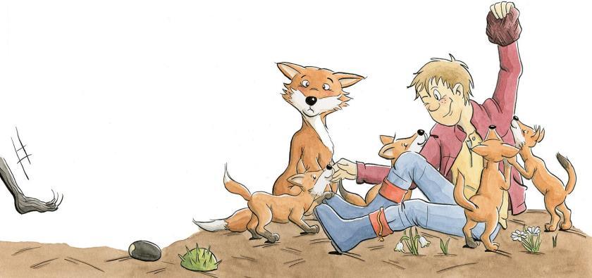 Tom und der Waldschrat - Füchse