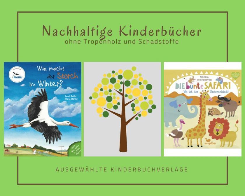 Nachhaltig produzierte Kinderbücher, Nachhaltigkeit Buch,