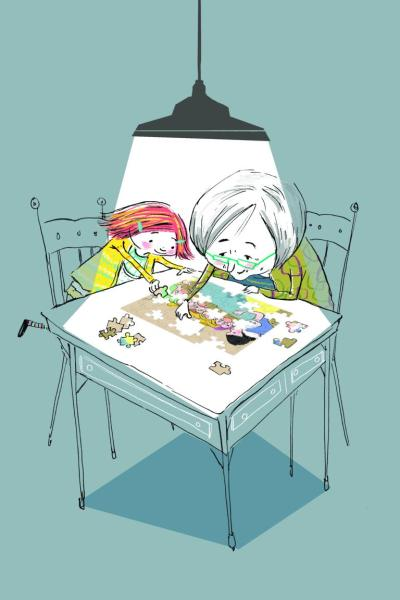 Kinderbuch Demenz, Kinderbuch Alzheimer