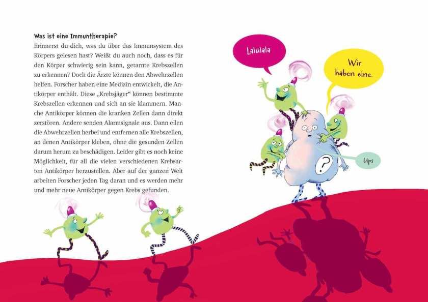 Sachbuch für Kinder über Krankheit Krebs