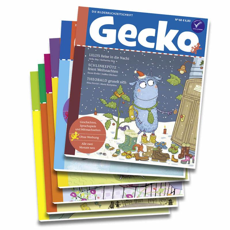Kinderzeitschrift Gecko