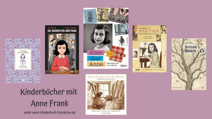 Bilderbücher, Kinderbücher und Comics/ Graphic Novels über Anne Frank